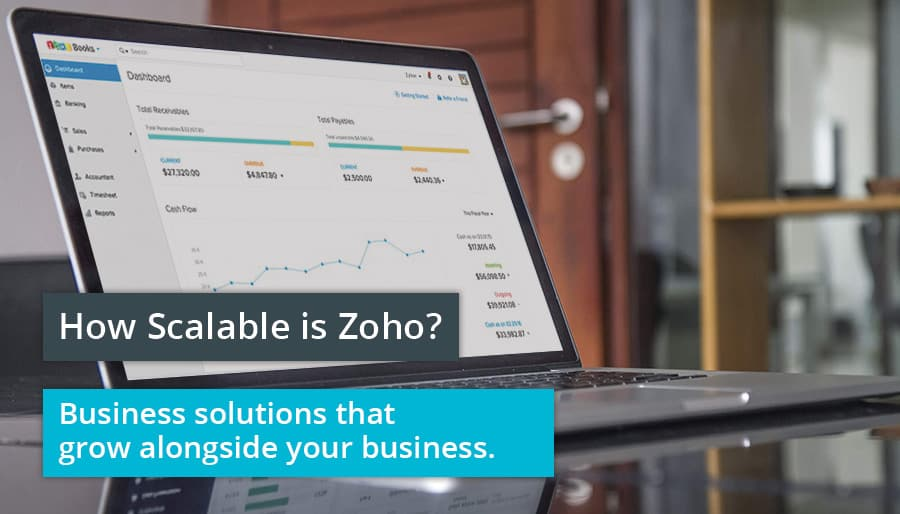 Zoho is scaleable