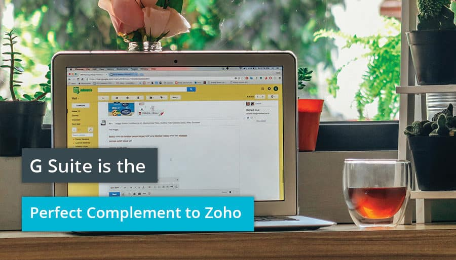 G Suite is the Perfect Complement to Zoho